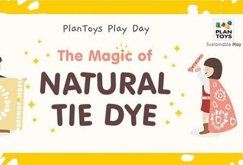 PlanToys Play Day : The Magic of Natural Tie Dye
