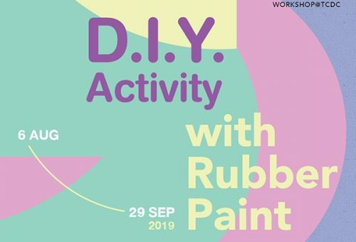 D.I.Y. Activity with Rubber Paint